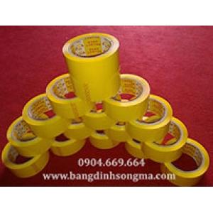Băng dính OPP màu vàng chanh